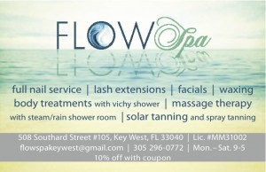 Flow Spa Ad for Keepsake